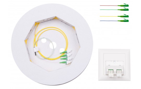 FTTH-IHK-GE-2.2-4LC/APC-130-ZUP-2-1234