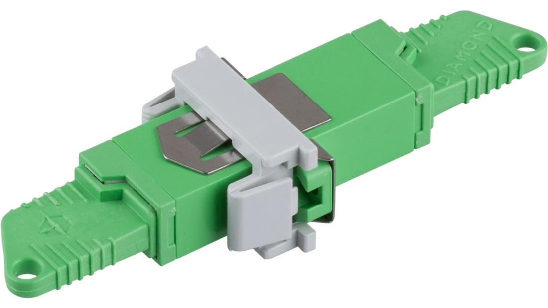 Mittelstück SM E2000/APC inkl. Retainer