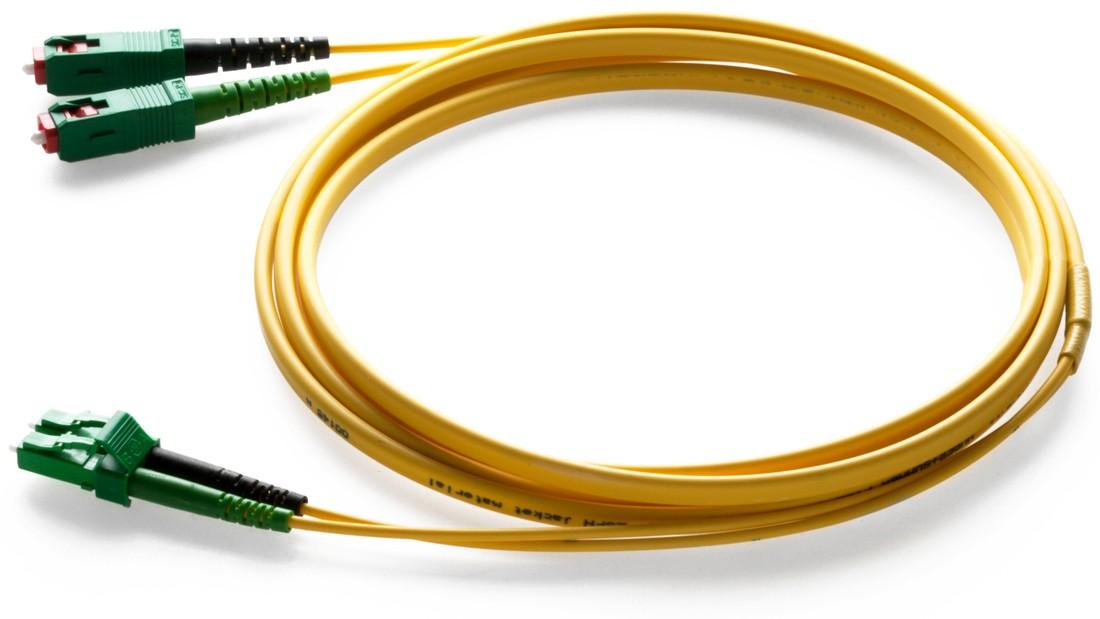 Patchkabel SM dx0 LC/APC - SC/APC